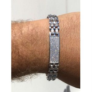 Harlembling Iced Out Hip Hop Presidential Bracelet